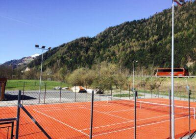 Teniszpálya építés