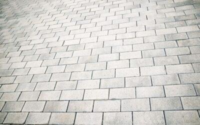 A térkövezés előnyei a betonnal szemben